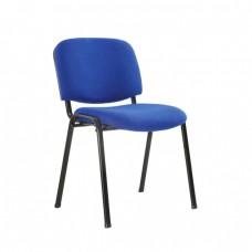 Καρέκλα γραφείου επισκέπτη SIGMA με ύφασμα σε μπλέ