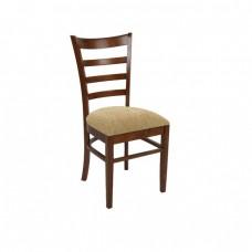 Καρέκλα Καρυδί/Ύφ.Μπεζ NATURALE-L