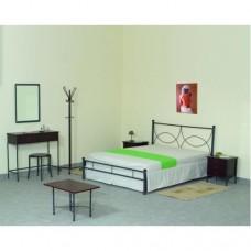 Κρεβάτι μεταλλικό (άρτεμις) 120x200 μέ ταβλες σέ διάφορα χρώματα