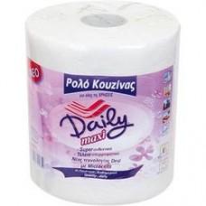 Χαρτί κουζίνας ρολλό daily 2κιλ. χ6δεμ. προσφορά