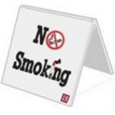 Ταμπελάκι (no smoking) λευκό pvc 5s5υ