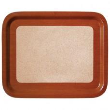 Δίσκος σερβιρίσματος μελαμίνης φελλου 46χ36χ2εκ.