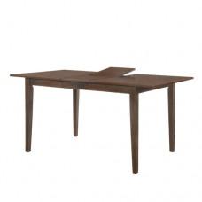 Τραπέζι ξυλίνο οξυα επεκτεινόμενο καρυδι 120-150χ70 προσφορά