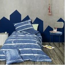 ΠΑΠΛΩΜΑ ΜΟΝΟ 160χ240 jaens blue 100% cotton
