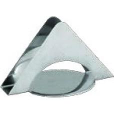 Χαρτοπετσετοθήκη inox τρίγωνη