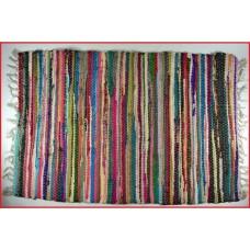 Χαλάκι κουρελού fiesta σέ διάφορα χρώματα 60x140