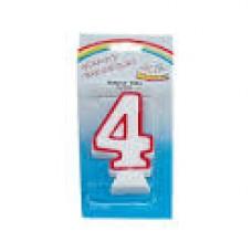 Κερί γενεθλίων αριθμοι 4