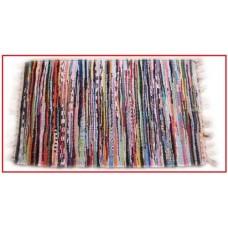 Χαλάκι κουρελού multy 60x190 διάφορα χρώματα 100%cotton