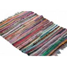 Χαλάκι κουρελού σέ διάφορα χρώματα 60χ120εκ