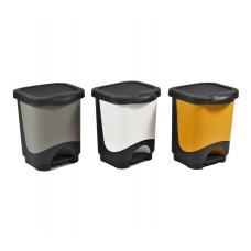 Πεντάλ 8 λίτρων πλαστικό σε τρεις διαφορετικές διχρωμίες