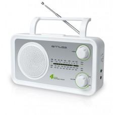 Ραδιόφωνο muse μπαταρίας-ρέυματος m-05sw
