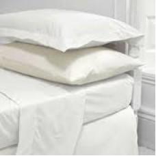 Μαξιλαροθηκες λευκές 50x70 σέτ 2τεμ. 100% cotton