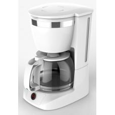 Καφετιέρα sidirela 800w λευκή & μάυρη 10φλυτζάνια