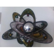 DECORATIVE METAL WALL PLANETS discount 15%
