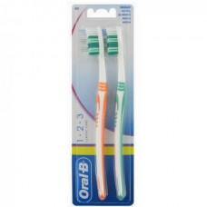 Οδοντόβουρτσα Oral-B Classic Care Μέτρια 2Τεμ.