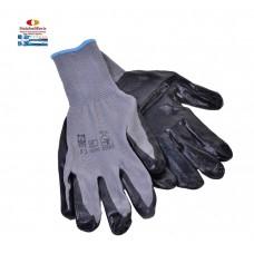 Γάντια νιτριλίου κήπου (L) 1ζευγάρι