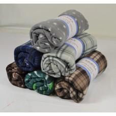 Κουβέρτα fleece zeta 190χ220 διάφορα χρώματα