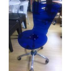 Καρέκλα γραφείου επισκέπτη ΜΠΛΕ προσφορά
