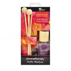 Αρωματικό aromatherapy 30ml με ξυλάκια bamboo - άνθη φρέζιας