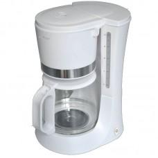 Καφετιέρα φίλτρου Primo 680w CM-6636 Λευκή/Inox
