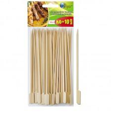 Καλαμάκια Bamboo με εργονομική λαβή 15εκ. 40+10 δώρο