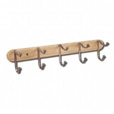 Κρεμάστρα ξύλινη ίσια 4γάτζοι
