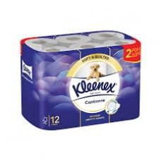 Χαρτί Υγείας  Kleenex Capitonne 10τμχ +2 Δώρο χ4κιβ.