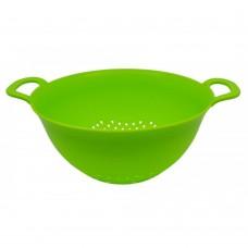 Σουρωτήρι πλαστικό σε πράσινο χρώμα 30εκ.