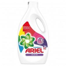 Υγρό ariel πλυντηρίου ρούχων 42μεζ. χ4κιβ.