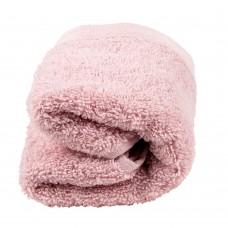 Πετσέτα χεριών 30χ50 100% βαμβακερή ρόζ