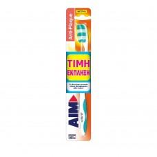 Οδοντόβουρτσα  Αim Anti Plaque Μέτρια