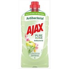 Υγρο azax πατωματος 1lt αντιβακτηριδιακο pure home μηλο χ12κιβ.