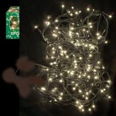 Λαμπάκια χριστουγεννιάτικα led 180 λευκά θερμό εξωτερικού