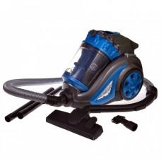 Σκούπα Ηλεκτρική με Κυκλωνική Τεχνολογία χωρίς Σακούλα 700W Μπλε Herzberg